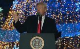 """Trump Gives Message """"Family is the Bedrock of American Life"""" at National Christmas Tree Lighting"""