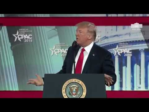 rump Delivers Strong Message at the CPAC Conference
